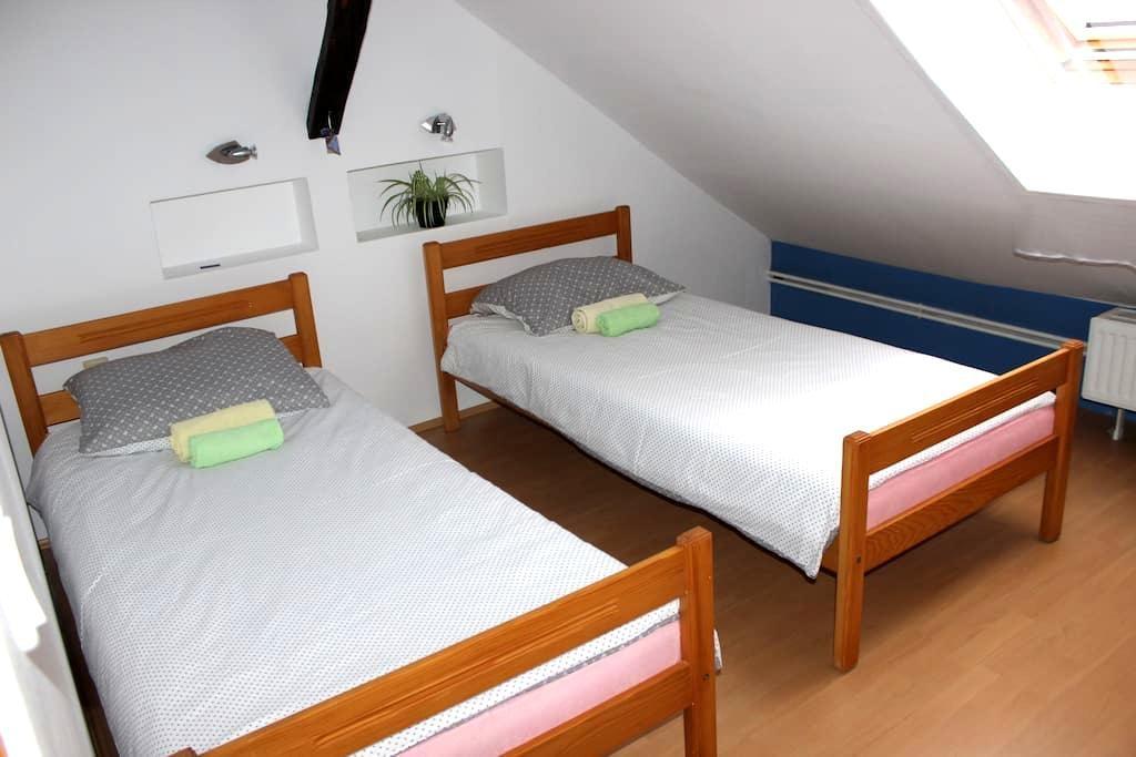 Private room for 2 in city centre - Osijek - Apartment