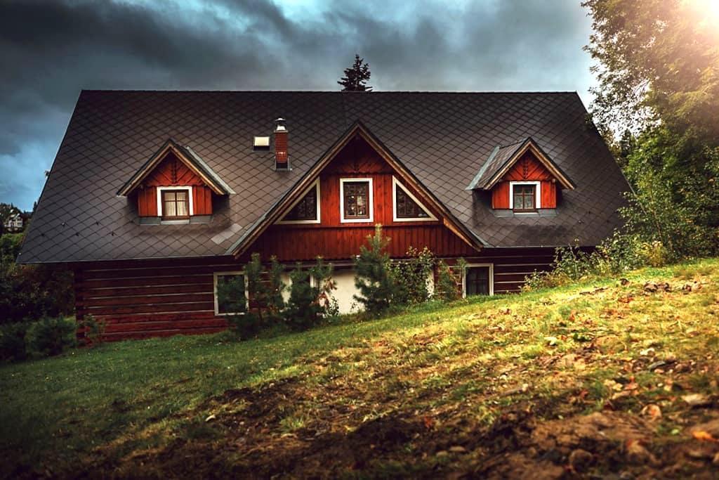 Cosy Log House Apartment - Benecko - Natuur/eco-lodge