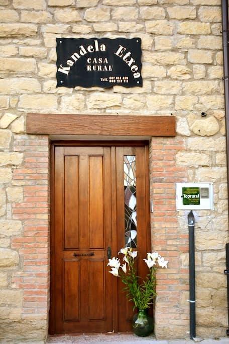 CASA RURAL KANDELA - Lapuebla Labarka - House
