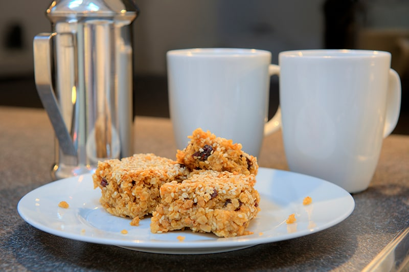 The famous Finn flapjack awaits you at the end of your journey to Edinburgh