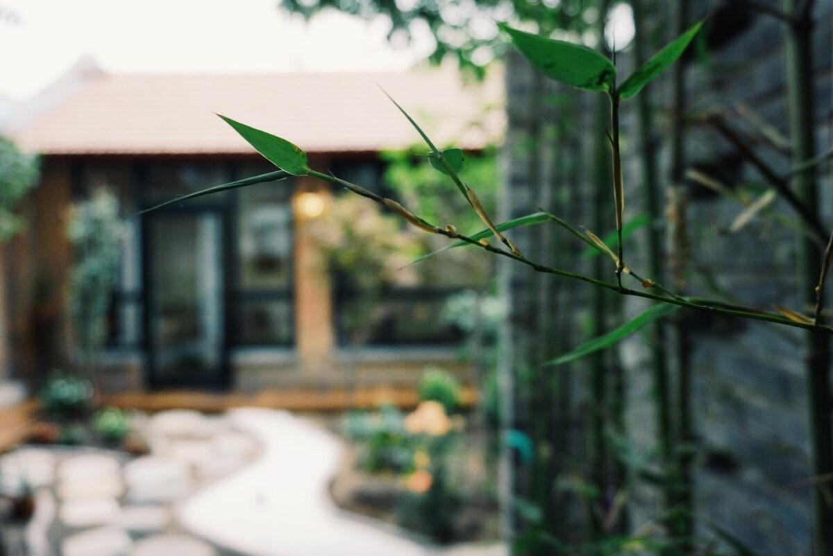 Beijing center, Bedroom in garden