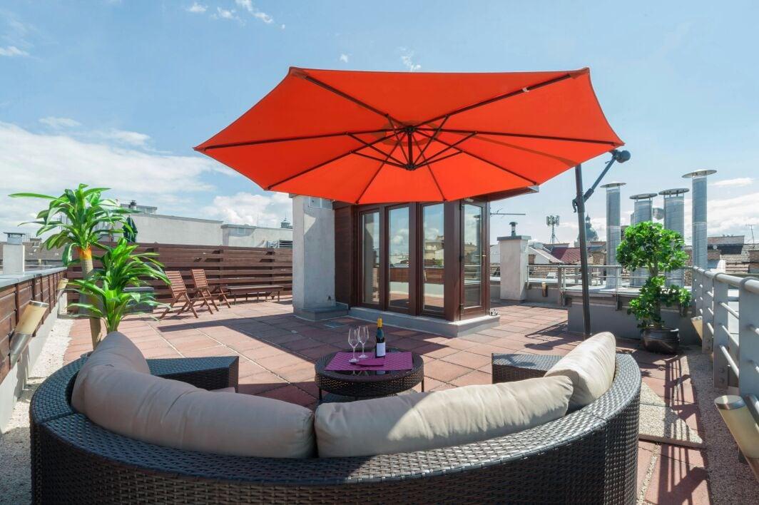 Premium Apartment with Roof Terrace