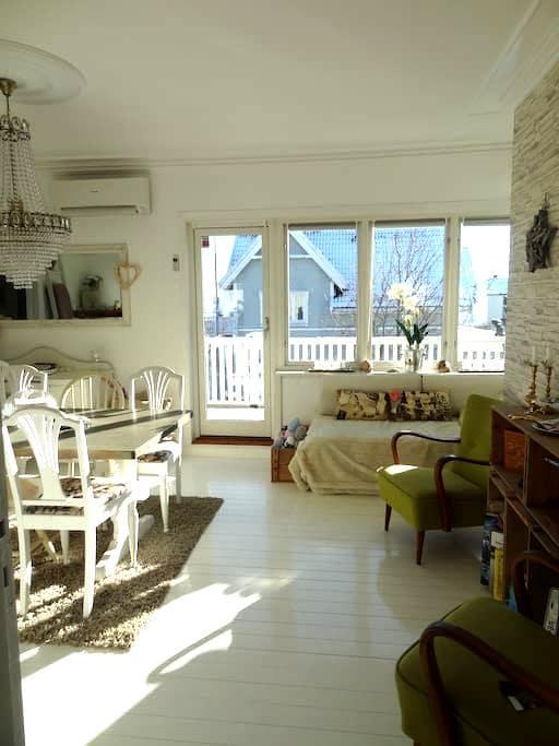 nice room for 2, bed 150cm - Tønsberg - Departamento