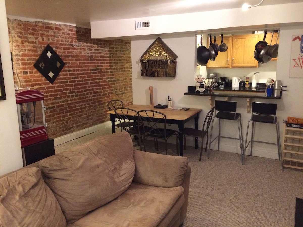 One bedroom king in the heart of DC