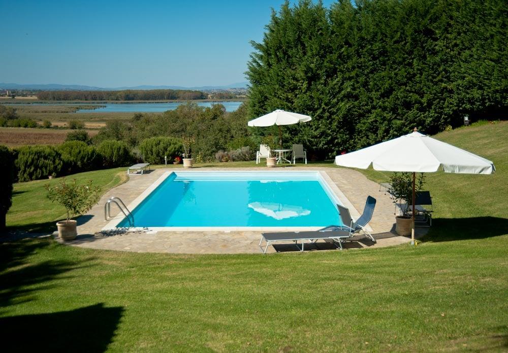 Appartamento in villa con piscina B