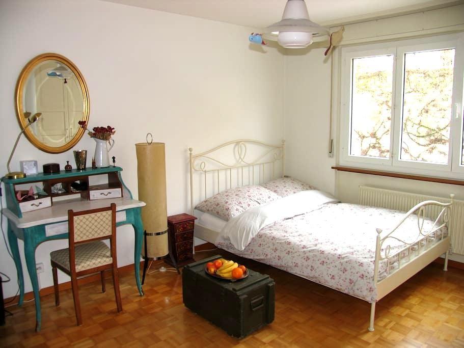 Magnifique chambre à Neuchâtel - Neuchâtel - Apartmen