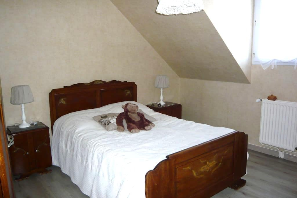 Chambre double au coeur des châteaux de la Loire - Les Montils - Talo