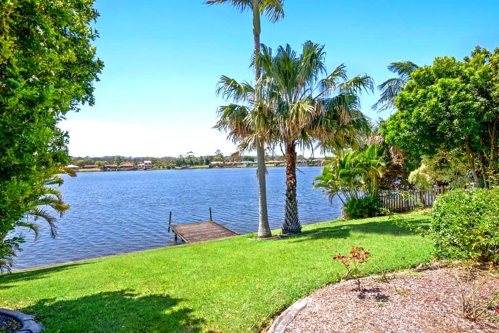Gold Coast Palm Bch Burleigh Villa saltwater lake - Elanora - House