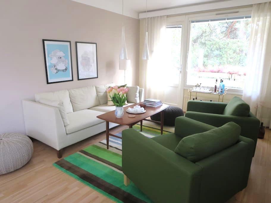 Bright, spacious apartment in nice neighbourhood - Vasa - Apartamento