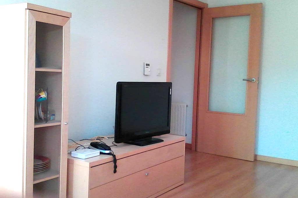 Habitación doble, a un kilómetro de Pamplona - Zizur Mayor - Apartemen