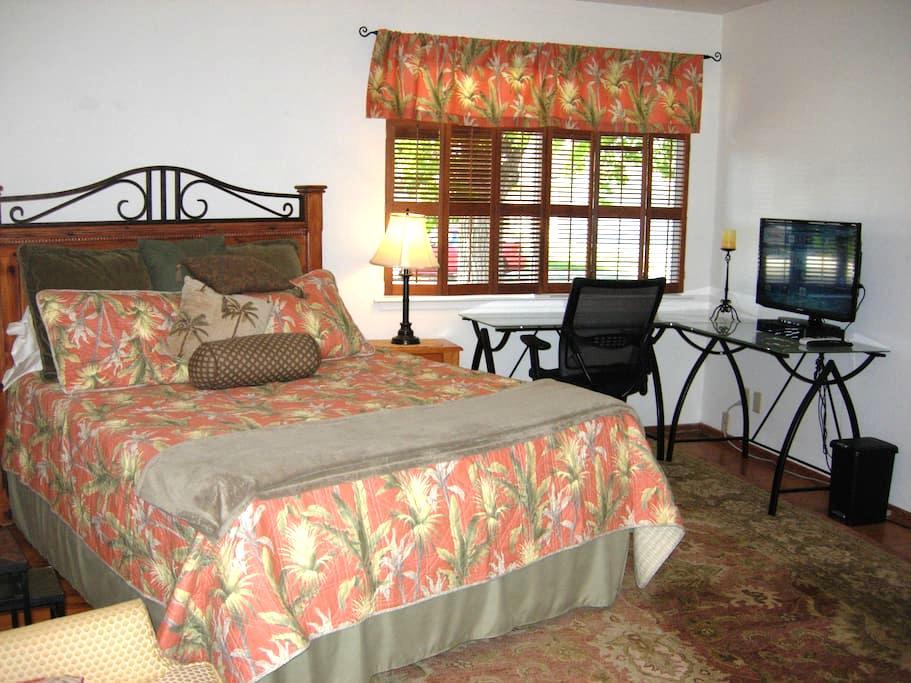 Private Bedroom & Bath, Large desk, secure, Quiet - Santa Clara - Casa