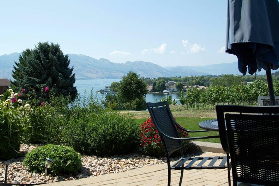 Lake, Mountains & Vineyard Serenity