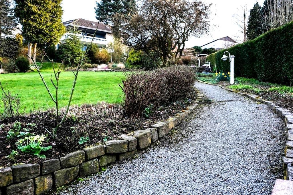 schöne, ruhige Ferienwohnung in Nordhessen - Trendelburg - Departamento