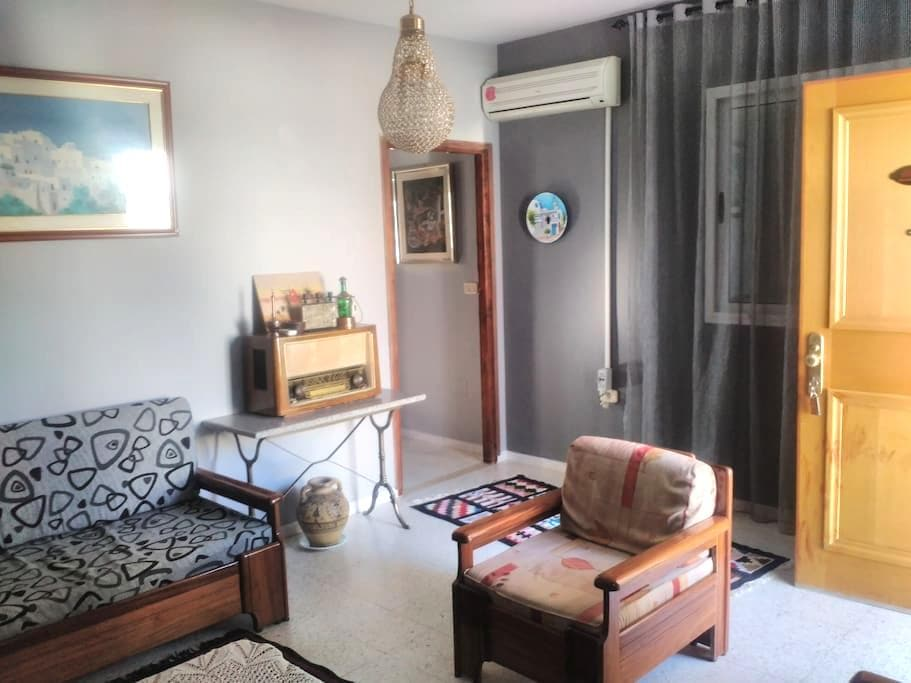 Peace(15 minutes from city center and airport) - Tunis - Apartmen