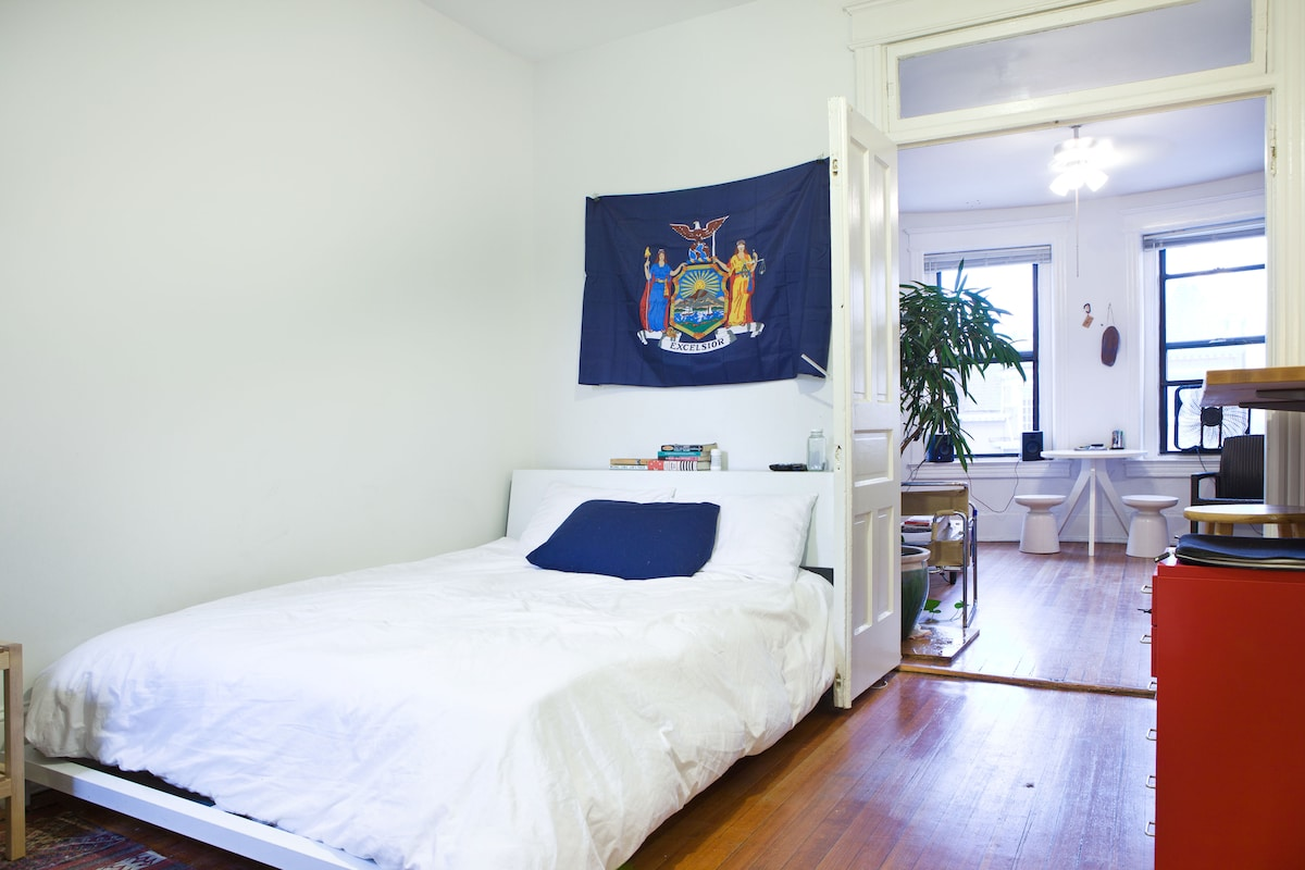 Clean, breezy, centralized 1BR spot