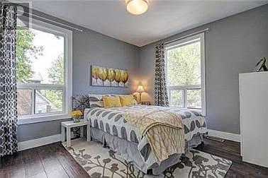 Private Room & Bathroom, Queen Bed