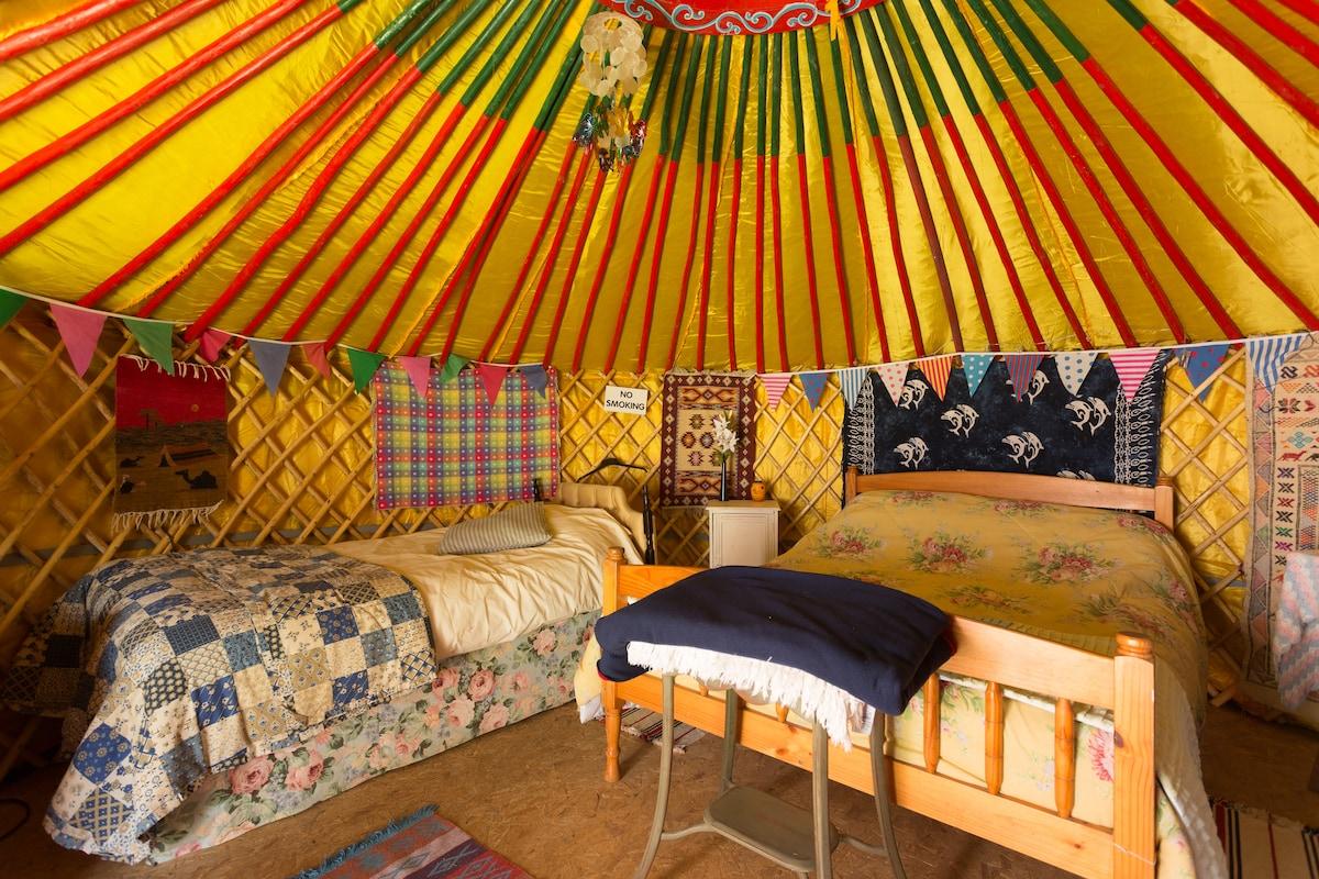 4 Bed Traditional Mongolian Yurt