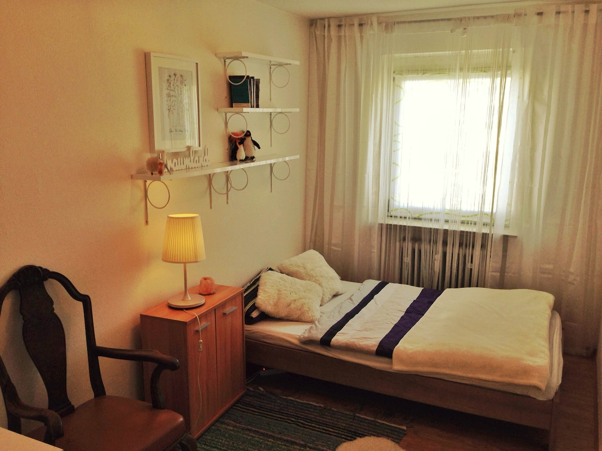 comfy room near downtown