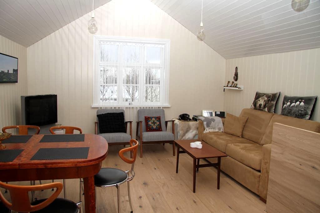 Hjalli charming old style house Vik - Vik - Casa