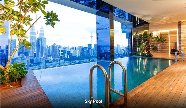 2 BR KLCC Luxury Living + Free Wifi