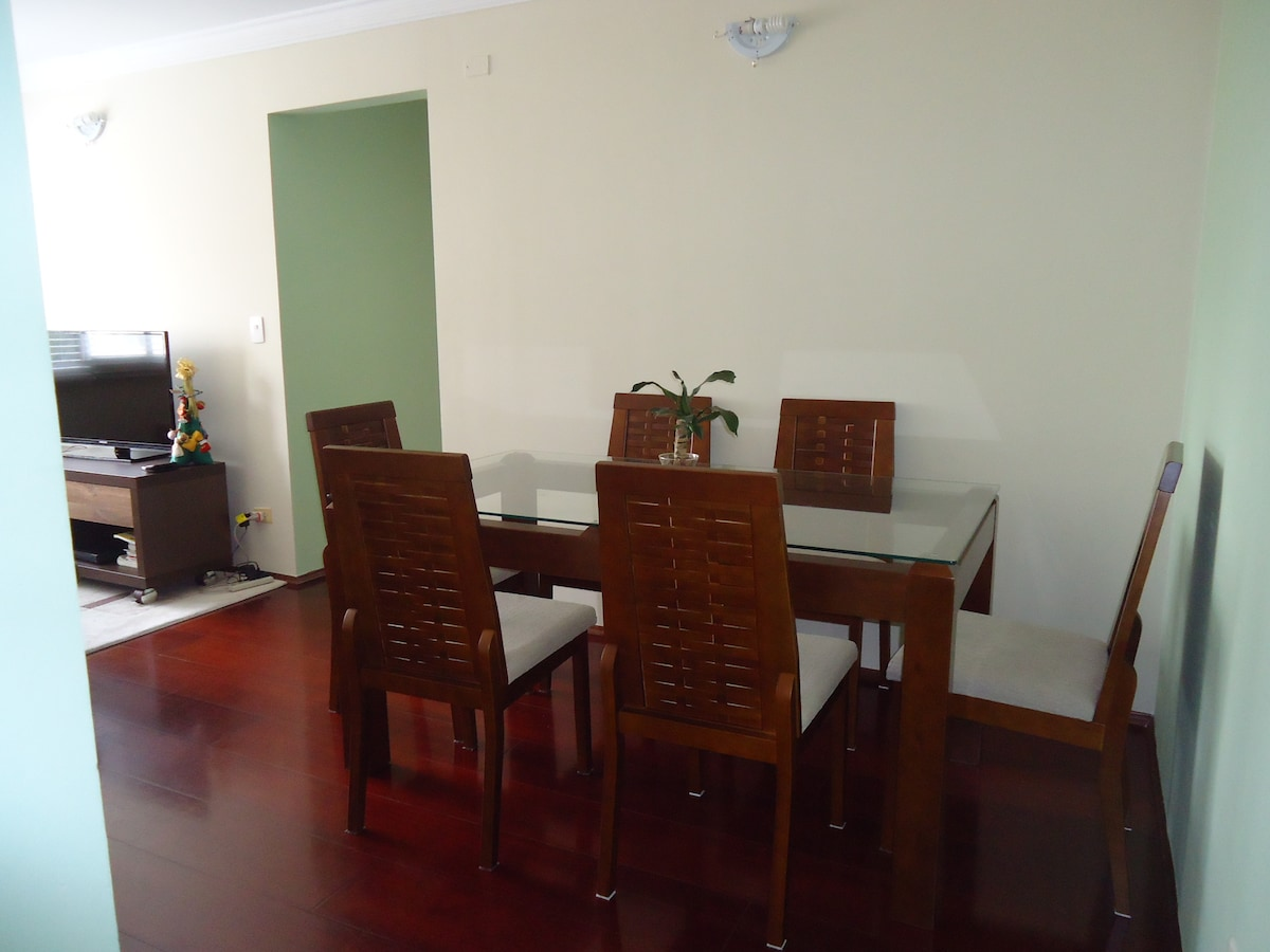 Cool room near Morumbi Stadium