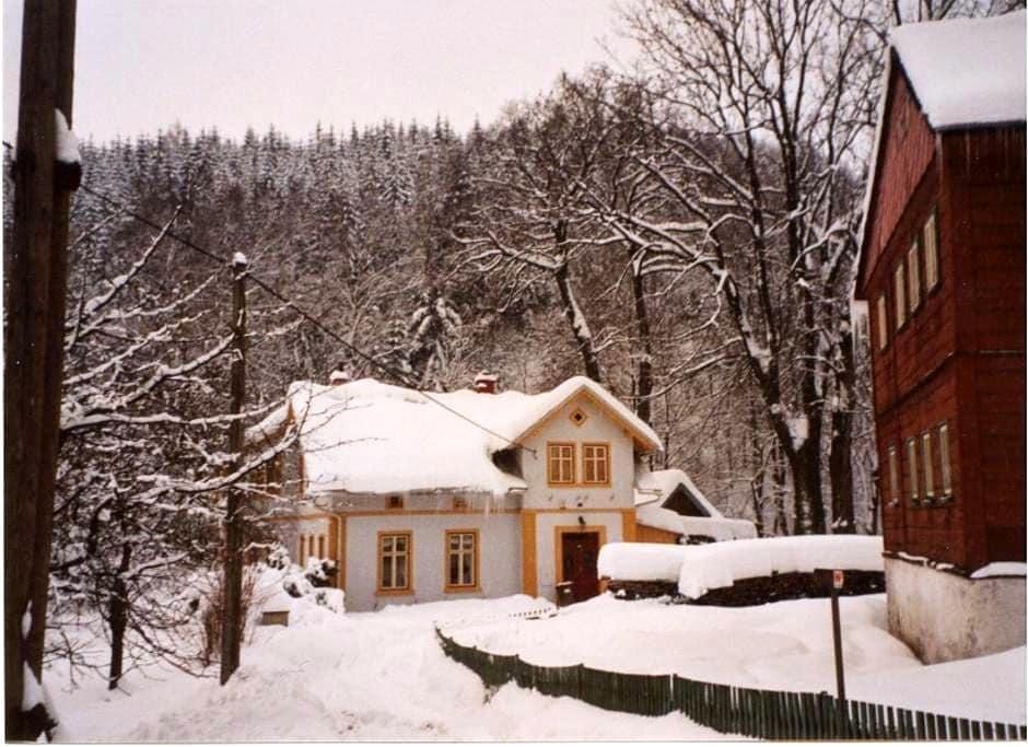 Romantic villa in small village - Desná