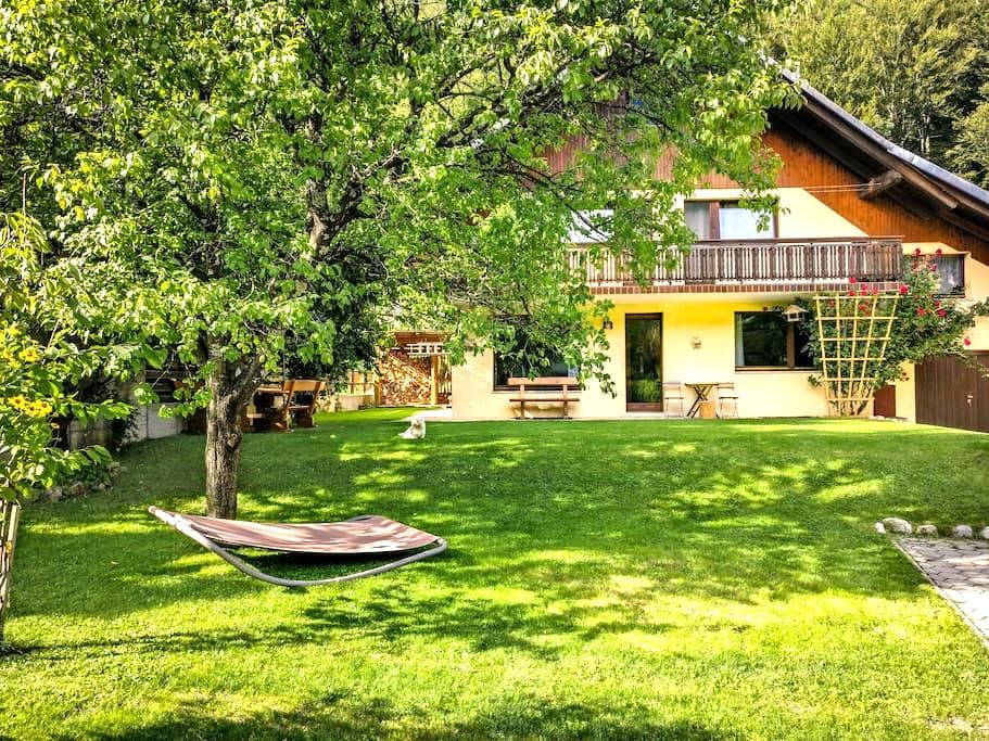 Charming and Cozy 3BR Alpine House - Gozd Martuljek - 独立屋