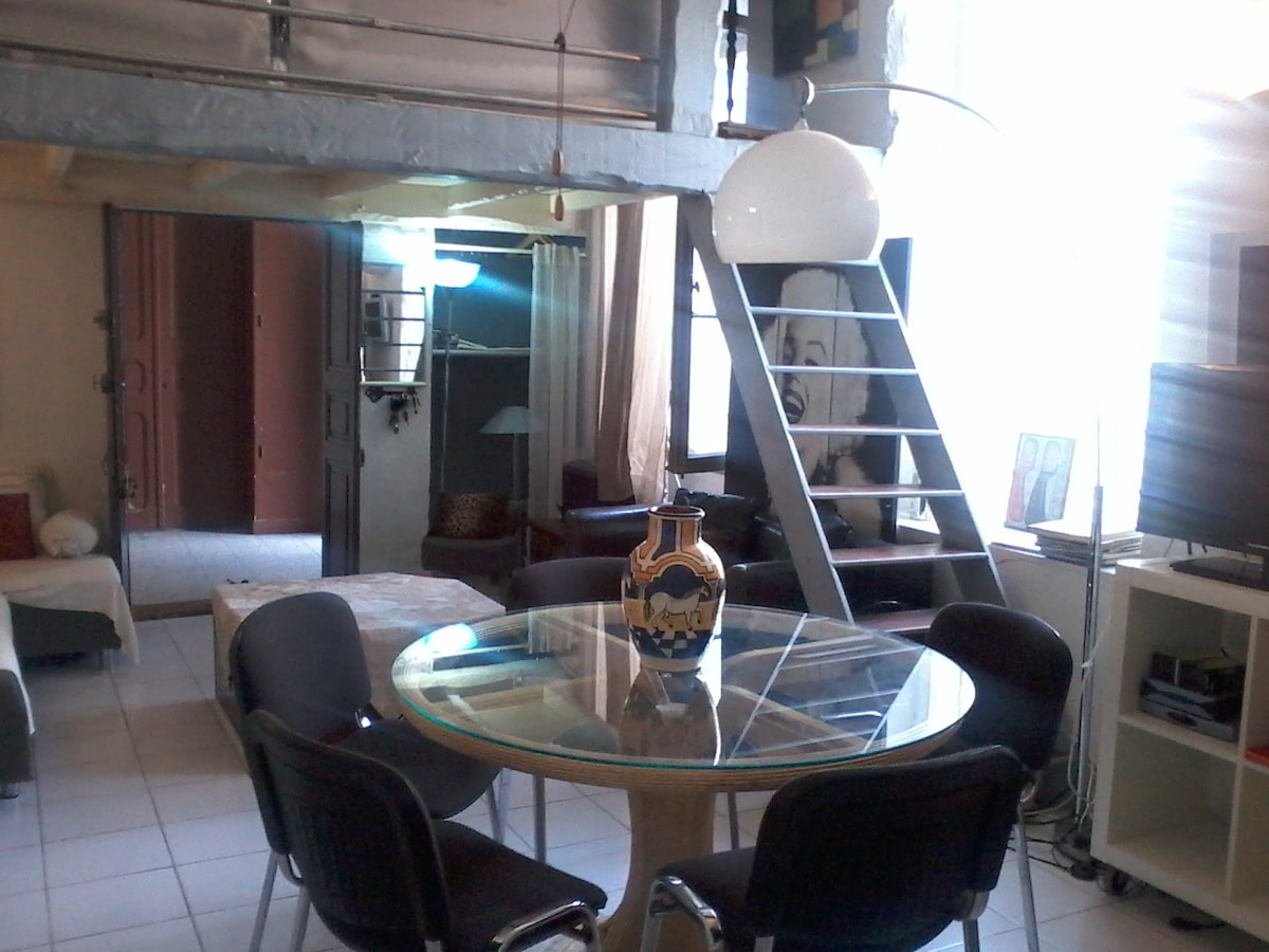 Appartement Cannes vacances 4 pers.