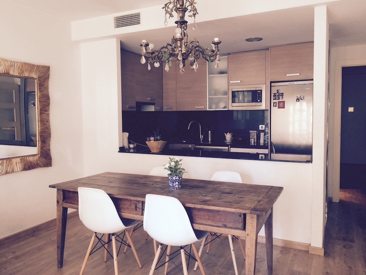 Beautiful flat near Paseo de Gracia