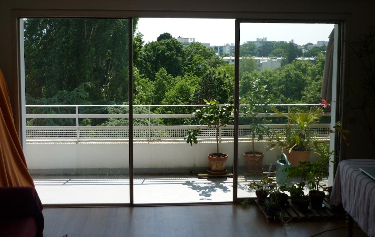 appartement entre centre et verdure