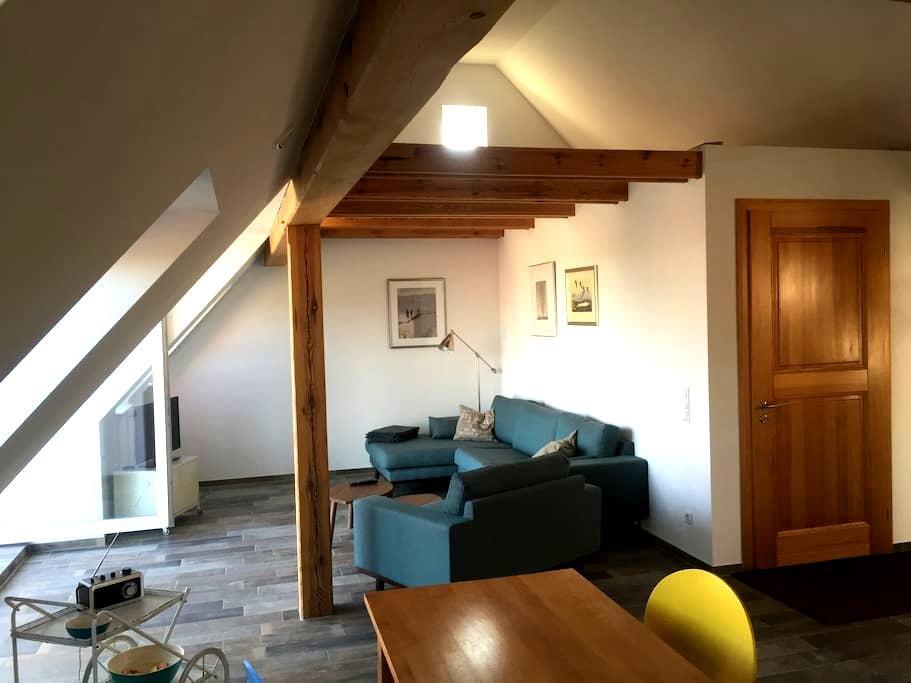 Studio mit Blick über Templin - Templin - Apartament
