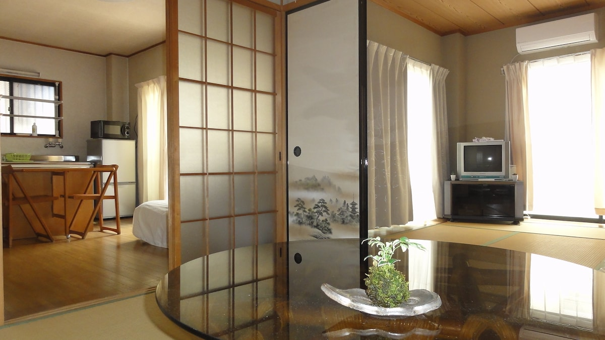 Japanese style with tatami