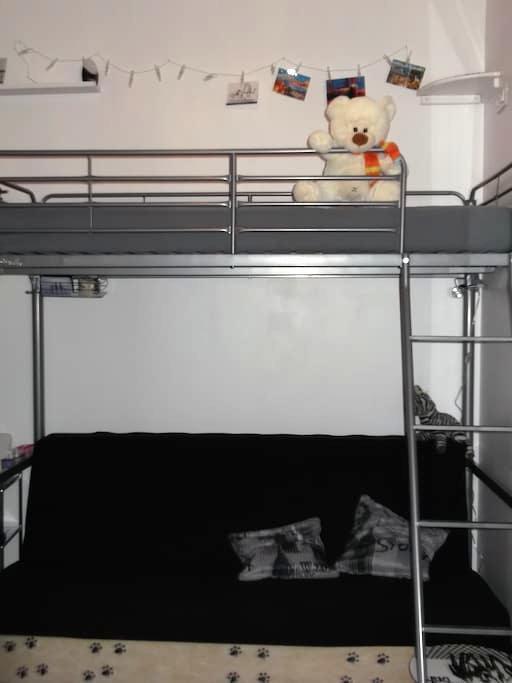 Rouen(Darnetal) Chambre studette - Darnétal - Bed & Breakfast