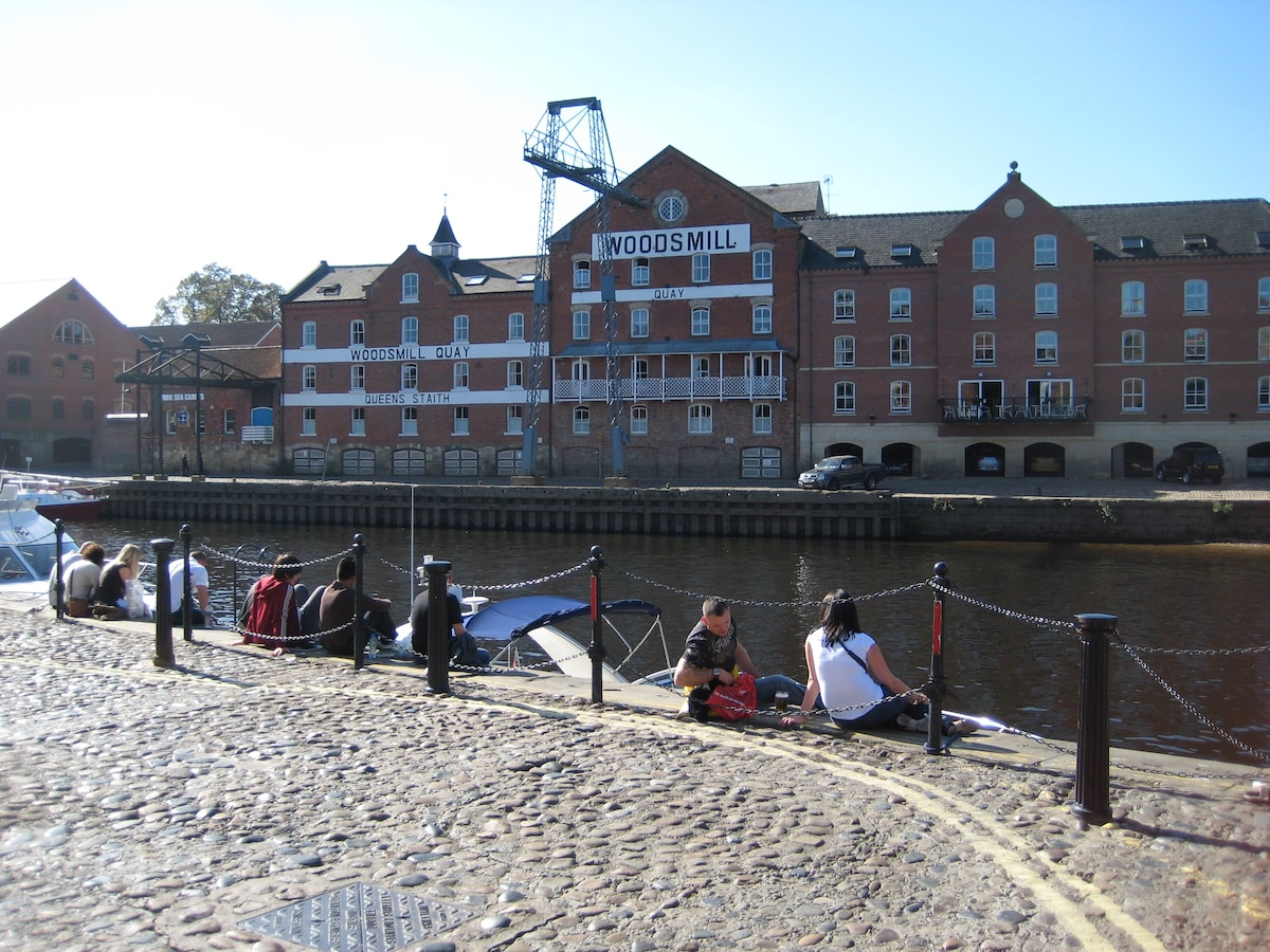 Central riverside converted mill
