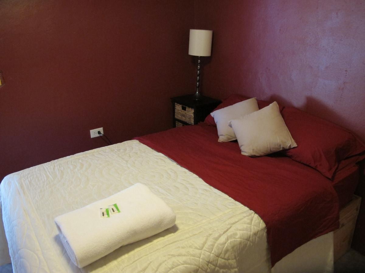 Private Room, Private Bath with AC
