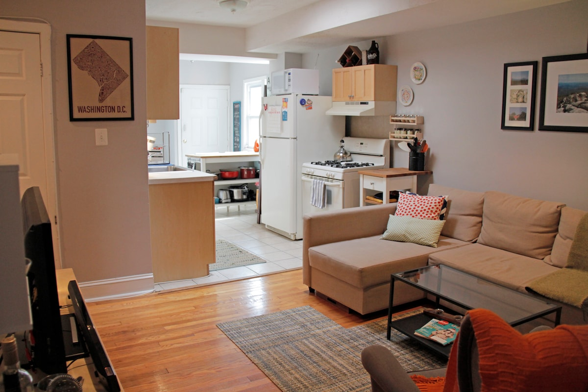 Cozy One Bedroom Apt in Heart of DC
