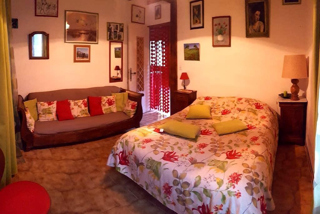 millau, st georges de luzençon:1 chambre+ dormeuse - Millau - Ev