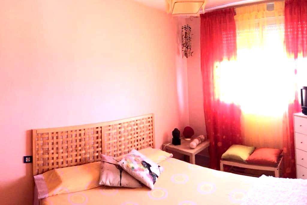 Piso con vistas al mar, luminoso, relax - Santa María del Mar - Apartament