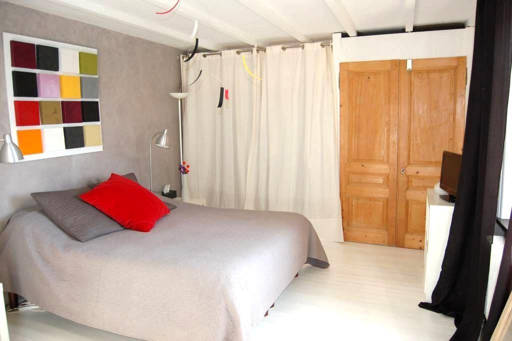 Près de Mornant, belle chambre - Saint-Maurice-sur-Dargoire - House
