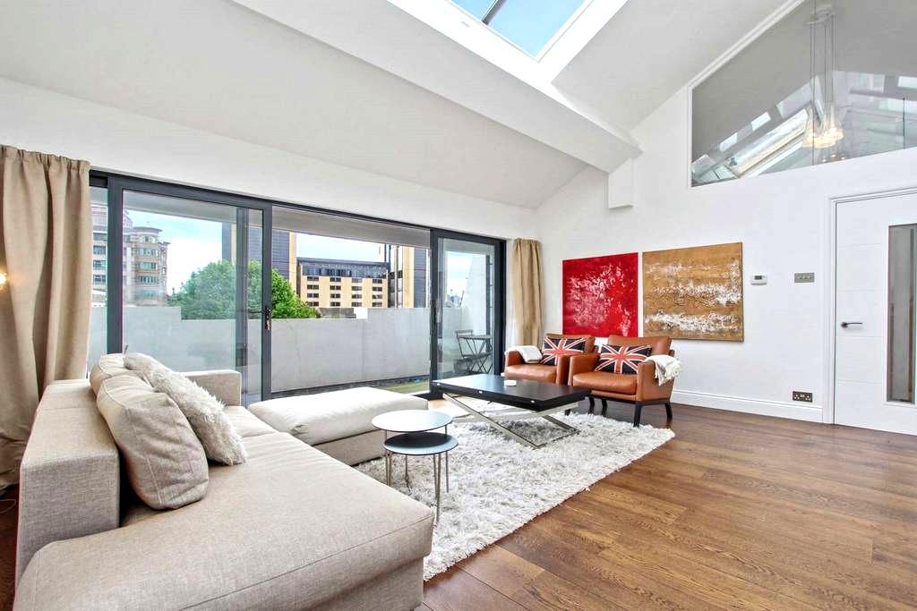 Luxury City Penthouse - max 2ppl - London - Loft