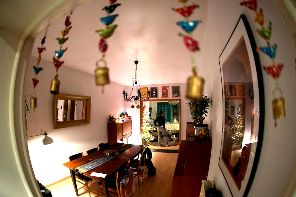 Cosy quiet private bedroom & living room in Gent! - Gent - Rumah