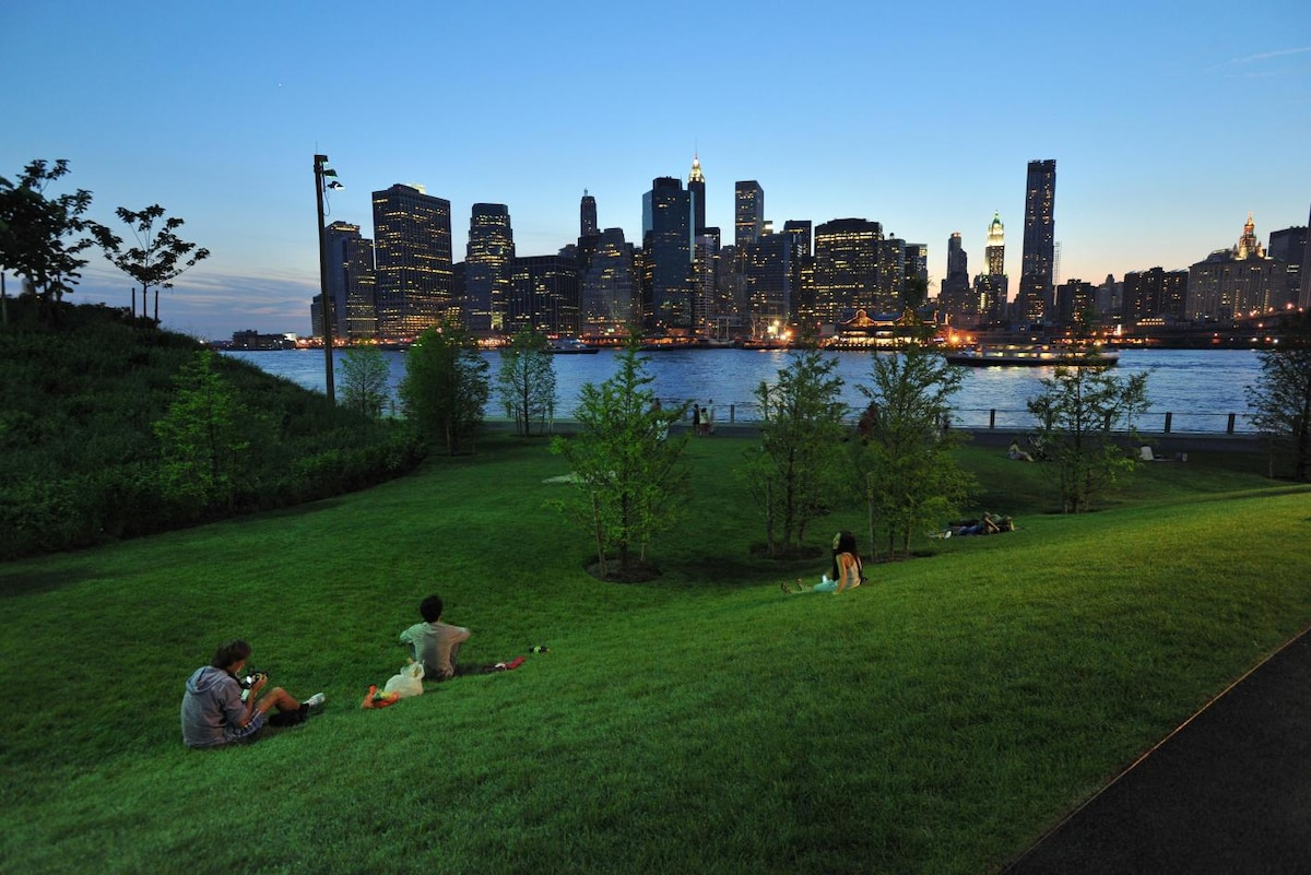 Summertime in the heart of Brooklyn