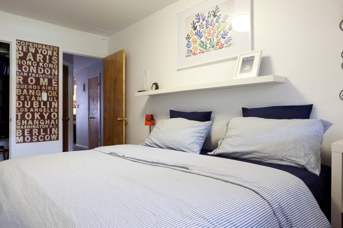 Size bed or Twin bedded cozy New York City private room