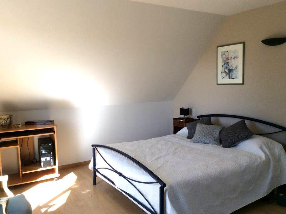 Chambre spacieuse dans cadre exceptionnel - Saint Pierre Montlimart - Casa de hóspedes