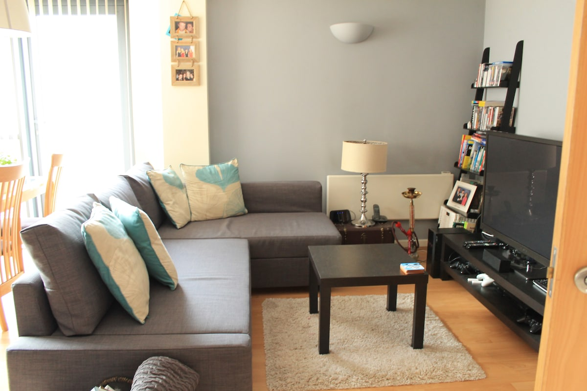 Homely flat in Leeds City Centre