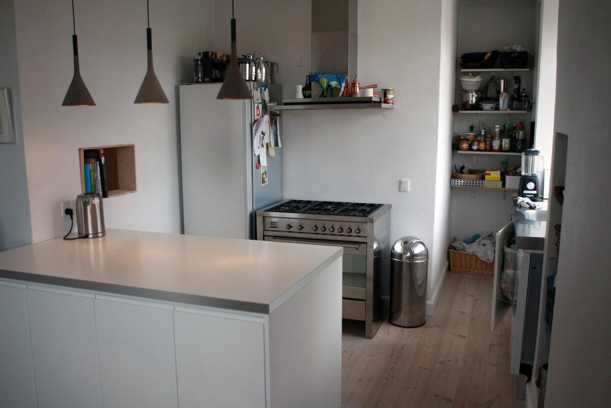 Aarhus C: 110 m2 cool apartment
