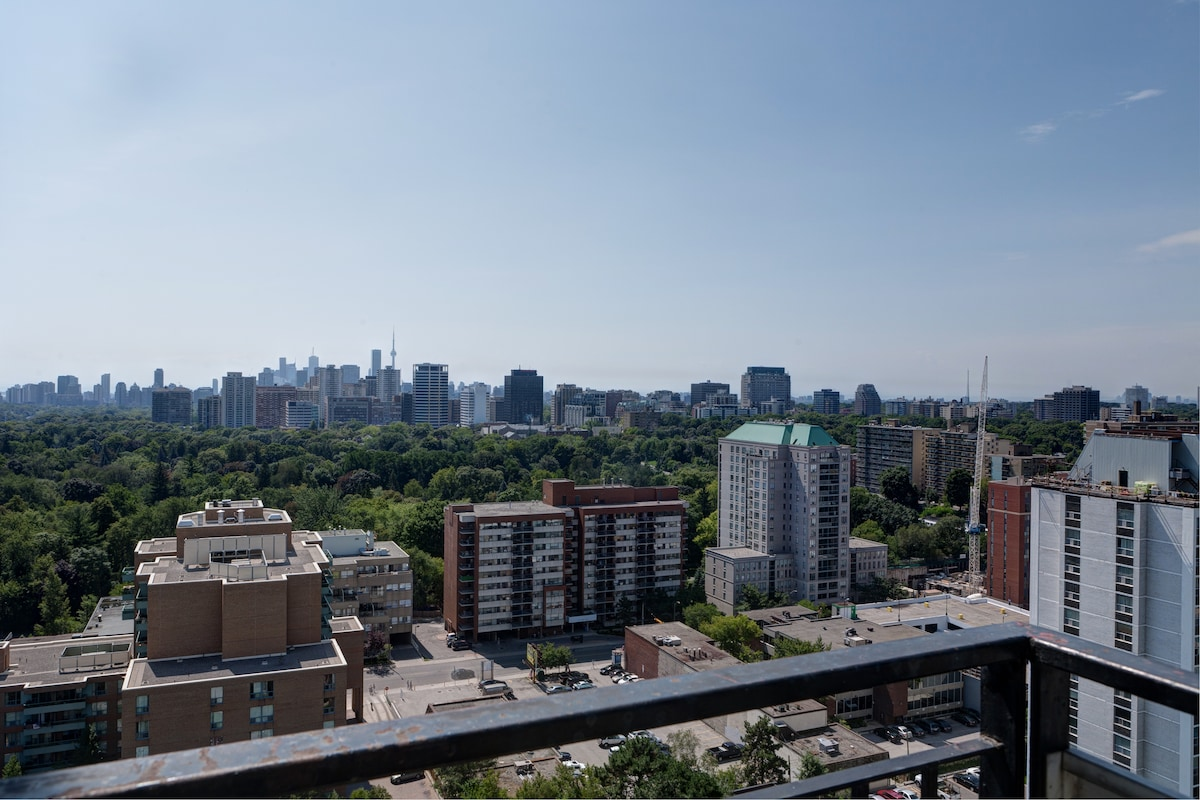 Lovely View of Downtown Toronto and CN Tower