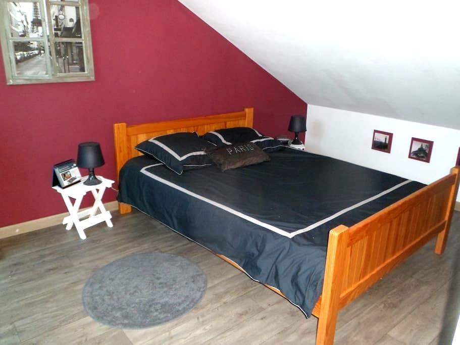 Le Mans, room + mezzannine 2/6 p. - Saint-Pavace - Rumah