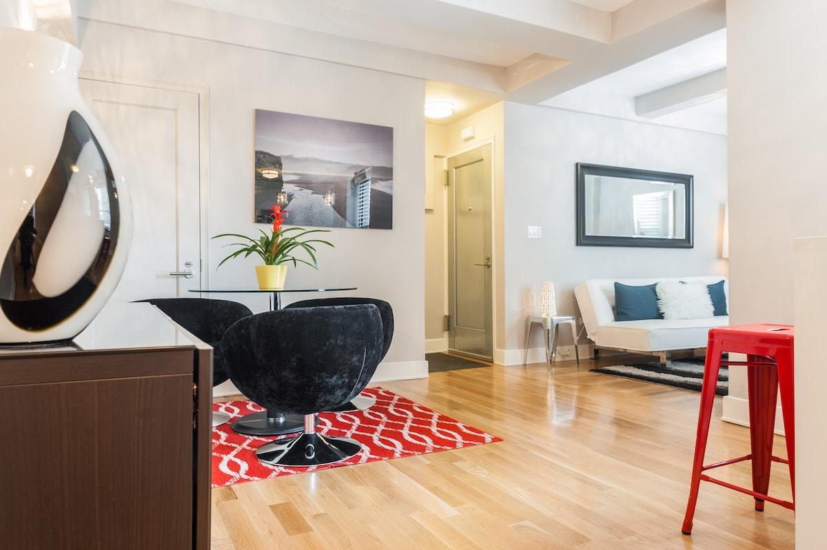 Luxurious 1 Bedroom Apt, Midtown