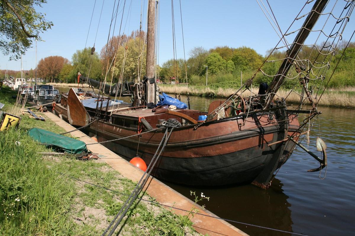 Historical Dutch Sailing Ship